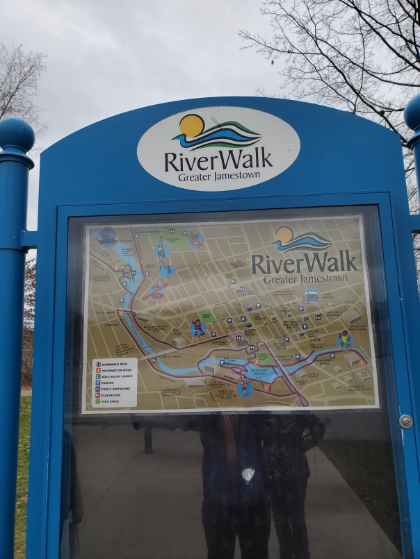 Jamestown Riverwalk Sign